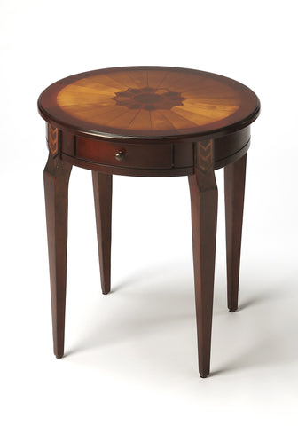 Archer Plantation Cherry Side Table