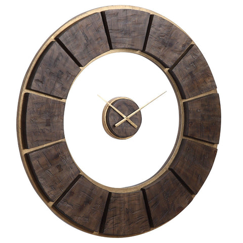 Kerensa Wooden Wall Clock
