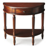 Mozart Madrid Brown Demilune Console Table