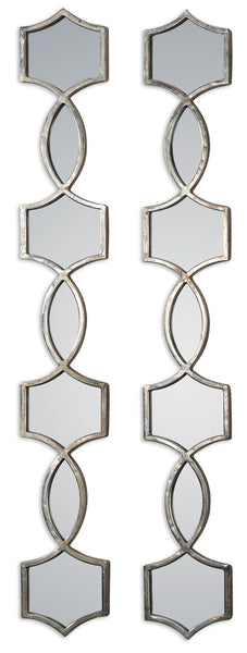 Vizela Metal Mirrors Set/2