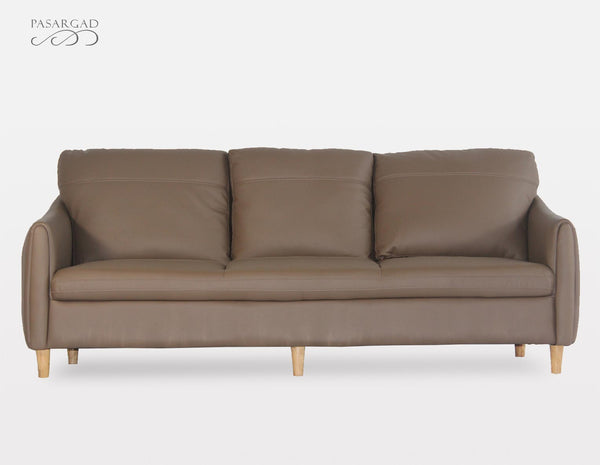 April Leather Sofa