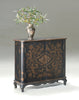 Leyden European Black Painted Console Cabinet