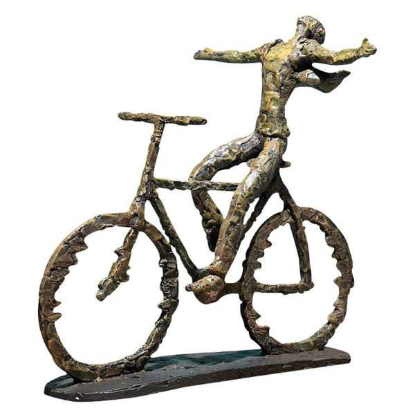 Freedom Rider Metal Figurine