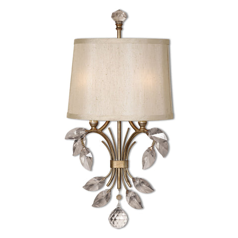 Alenya 2 Light Gold Wall Sconce