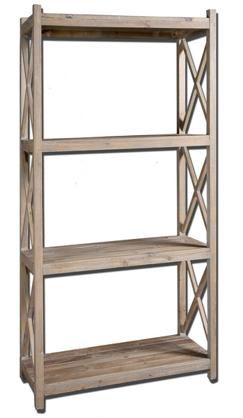 Stratford Reclaimed Wood Etagere