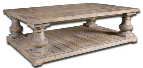 Stratford Rustic Cocktail Table