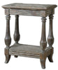 Mardonio Distressed Side Table