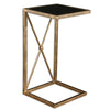 Zafina Gold Side Table