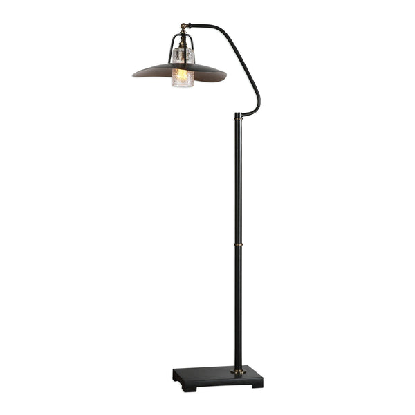 Arkutino Black Iron Floor Lamp
