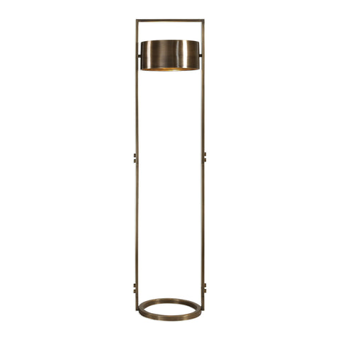Ilario Suspended Drum Shade Floor Lamp