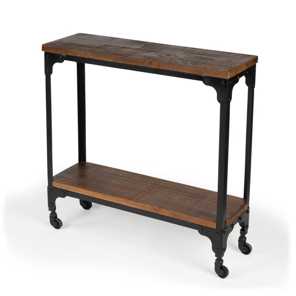 Gandolph Industrial Chic Console Table