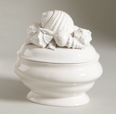 Shell Ceramic Tureen