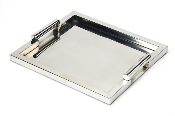Morante Stainless Steel Rectangular Serving Tray