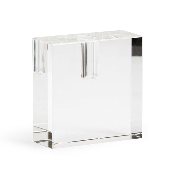 Rectangle Crystal Candlestick