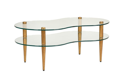 Trinty Coffee Table - Gold
