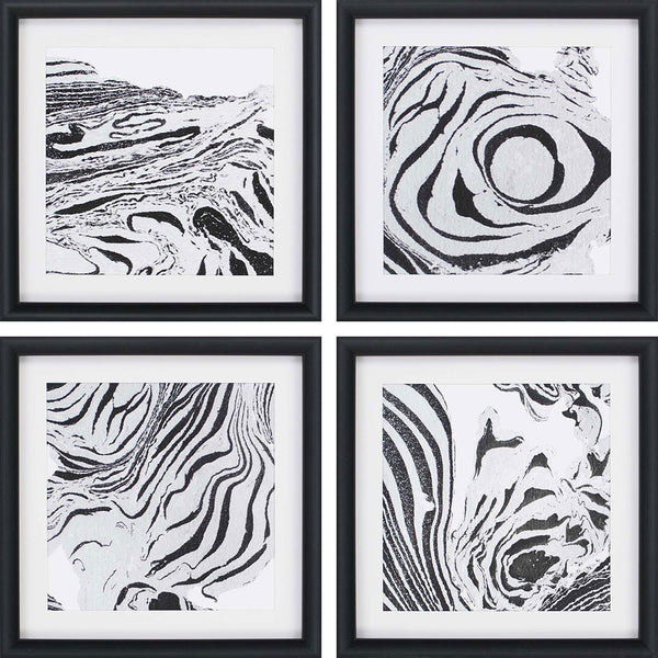 Abstracted, 4 Pieces