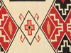 Hand-Knotted Navajo Grey/Black Wool Area Rug
