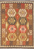 Kilim  Hand-Knotted Wool Area Rug