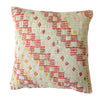 Hand-Woven Vintage Turkish Red/White Pillow