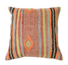 Hand-Woven Turkish Vintage Orange Pillow
