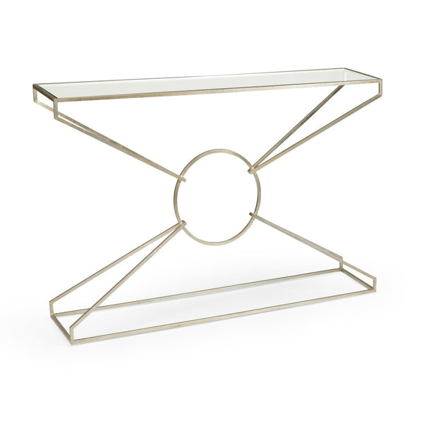 Emery  Silver Console Table