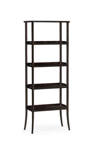 Four-Tier Etagere In Dark Ale