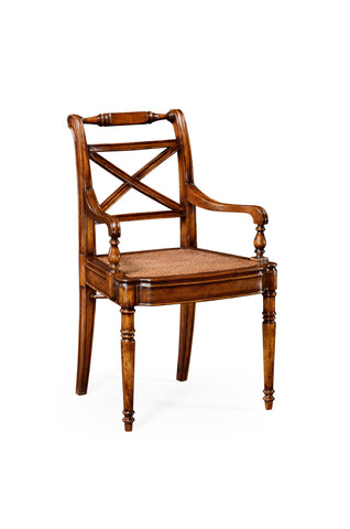Regency Cross Frame Back Chair