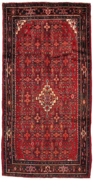 Vintage Shiraz  Hand-Knotted Lamb's Wool Area Rug