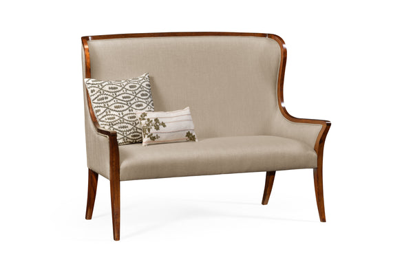High Curved Back Settee
