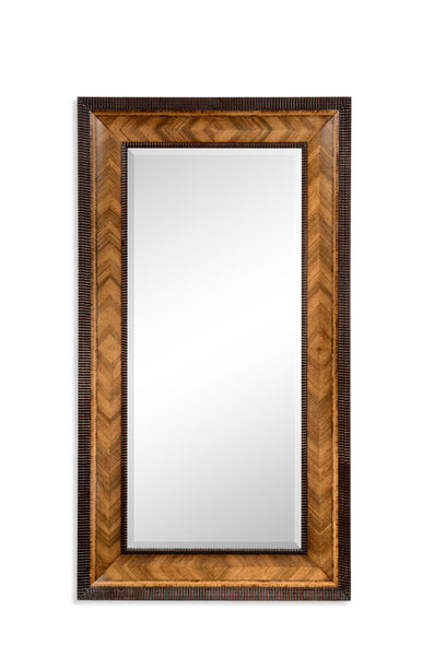 Gadrooned Floor Standing Mirror