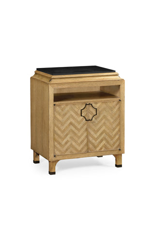 Natural Oak Nightstand
