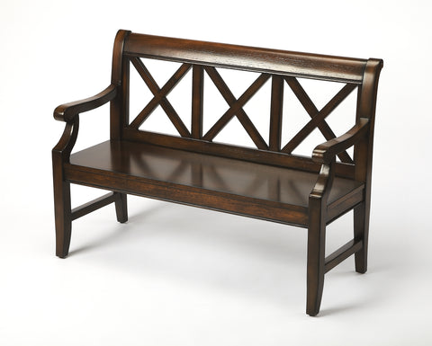 Gerrit Plantation Cherry Bench