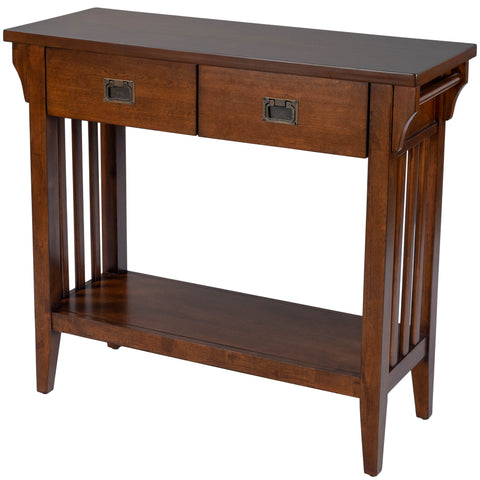 Larina Shaker Wood Console Table