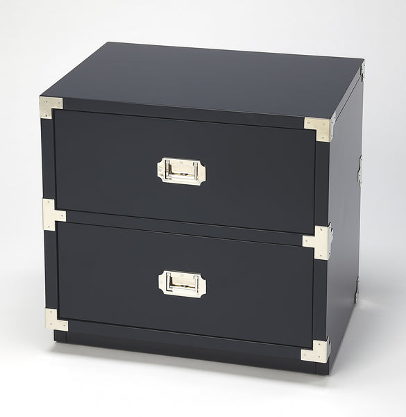 Anew Blue 2 Drawer Campaign Chest