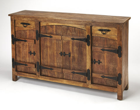 Giddings Rustic Sideboard