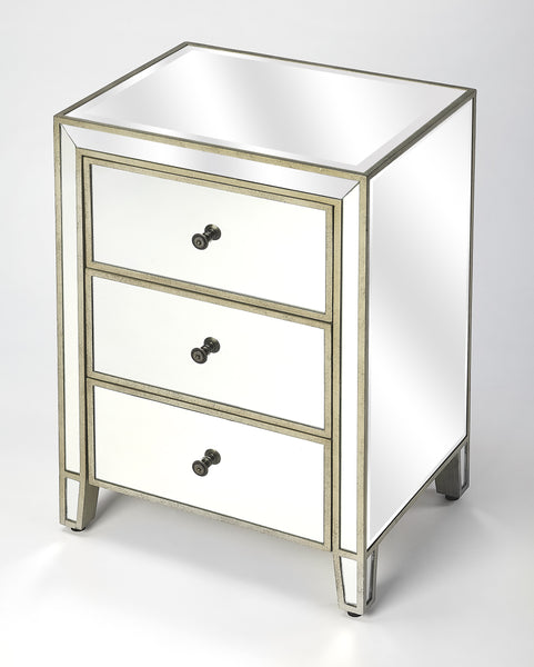 Cali Mirrored Drawer Chest