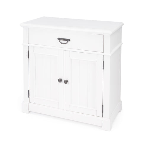 Solid Wood Chest with Storage