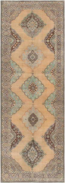 Vintage Sivas Collection Hand-Knotted Wool Area Rug