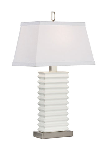 Accordian Vase Lamp