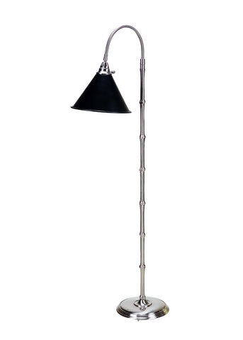 Bostwick Ii Floor Lamp-Nickel