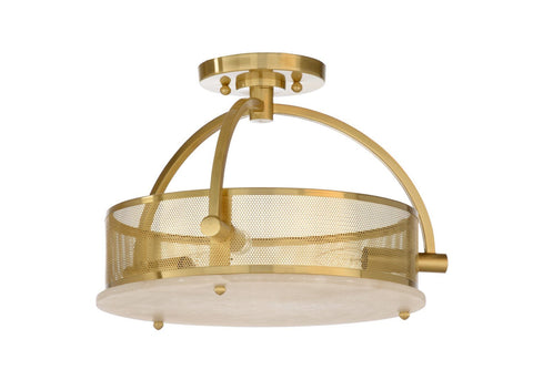 Moon Ceiling Light - Brass