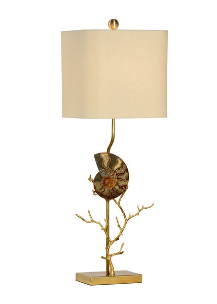 Ammonite Right Lamp