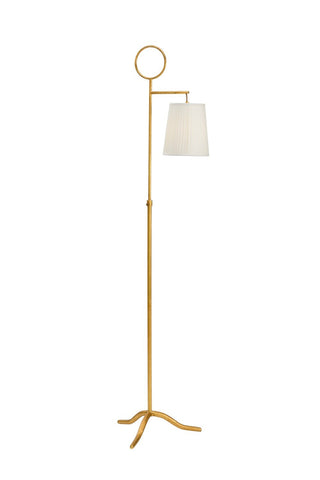 Charlotte Gold Floor Lamp