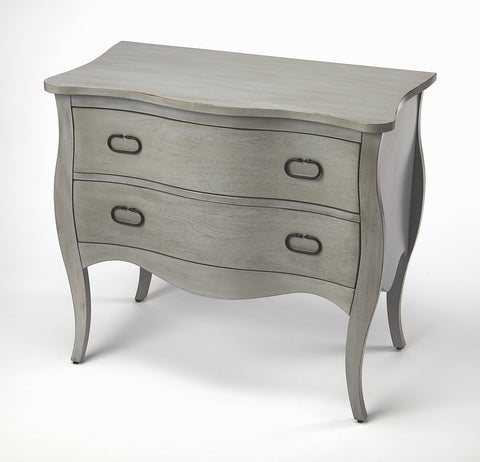 Rochelle Gray 2 Drawer Chest