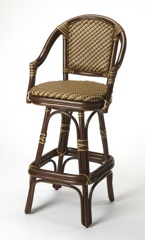 Renata Rattan Bar Stool