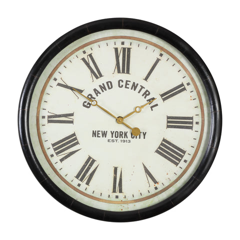 Leonor Grand Central Wall Clock