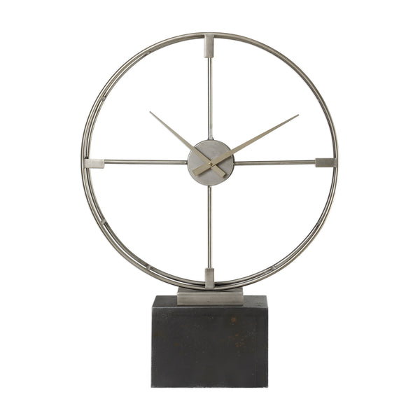 Janya Contemporary Table Clock