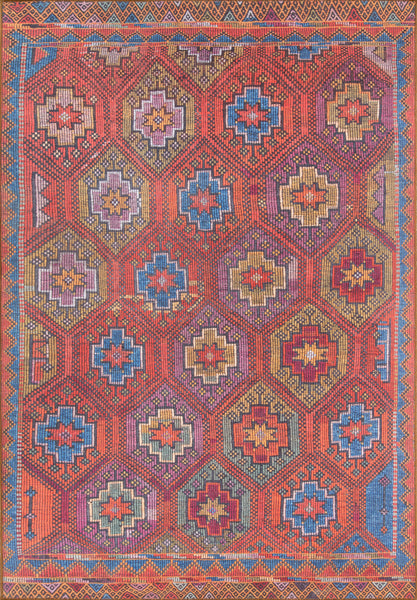Afshar Turkish Machine Made Area Rug