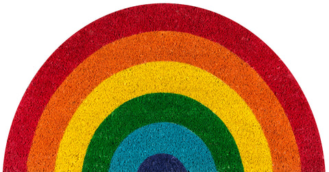 Hand Woven Rainbow Indoor/Outdoor Rug