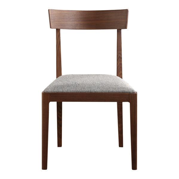 Leone Dining Chair Walnut Set Of Two